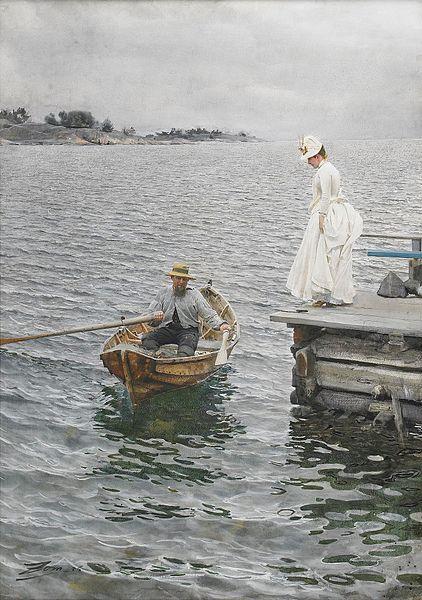 201302_422px-Sommarnöje_(1886),_akvarell_av_Anders_Zorn