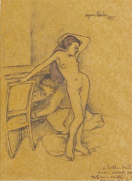 Suzanne_Valladon_Nu_1895_Sothebys