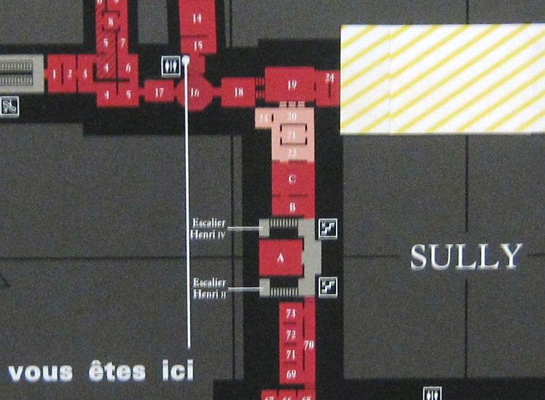 Louvre Plan