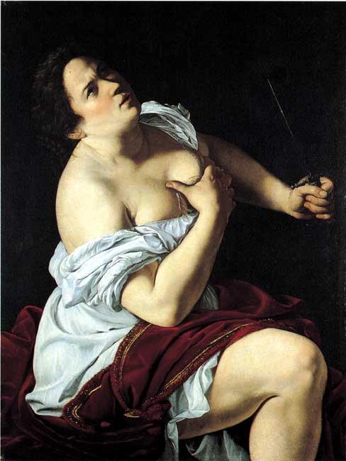 Lucrèce Artemisia Gentileschi