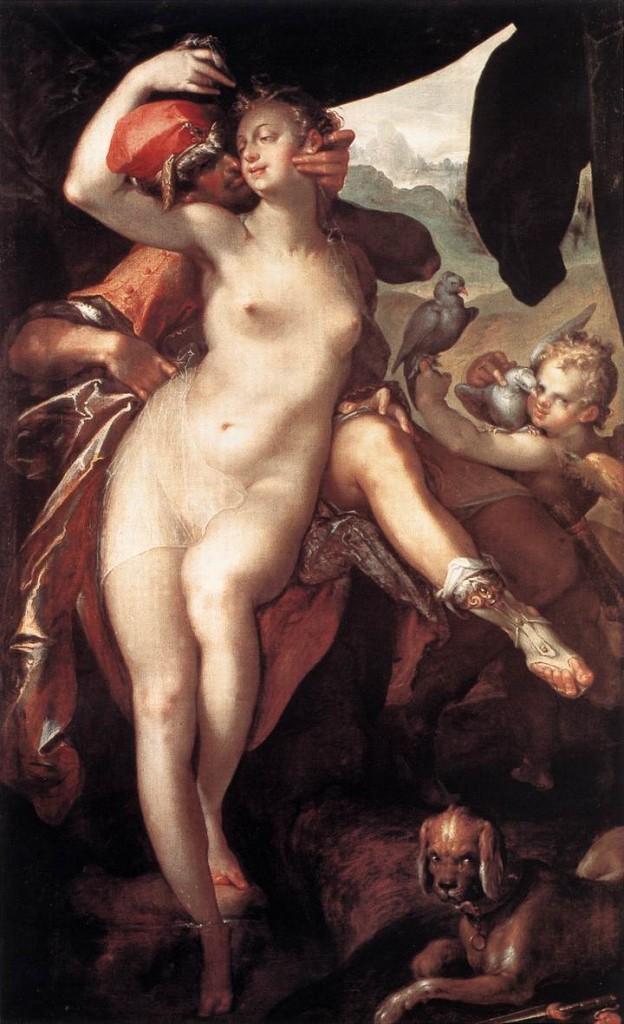 Bartholomeus_Spranger_-_Venus_and_Adonis_-_WGA21692