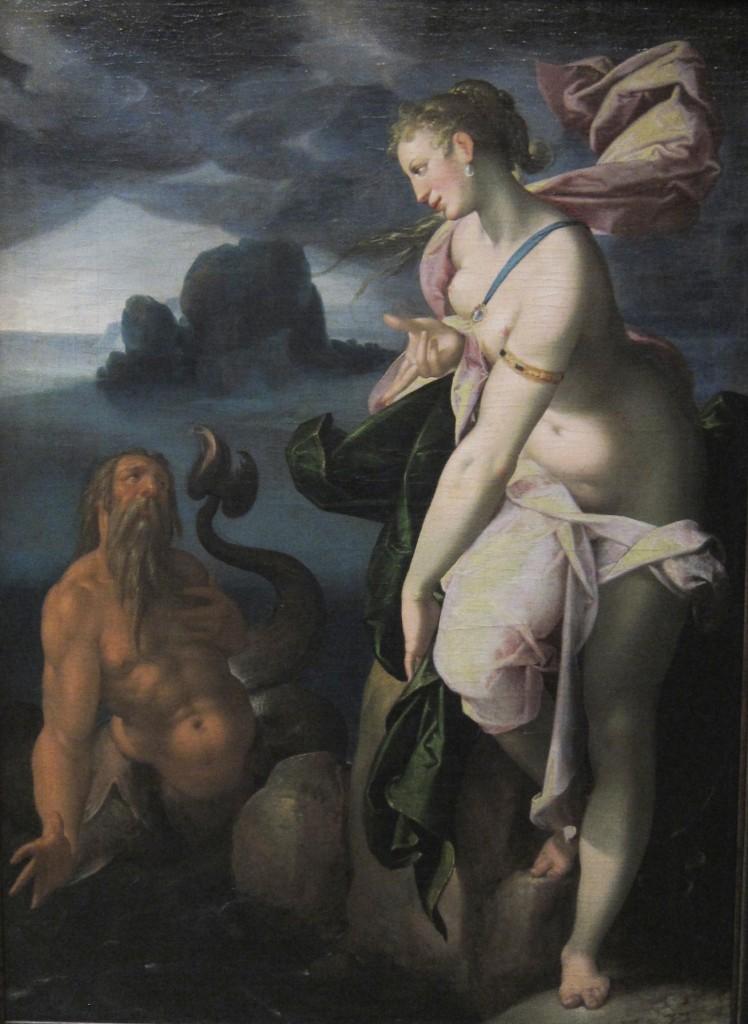 Spranger - Glaucus et Scylla - VisiMuZ - Kunsthistorisches Museum Vienne
