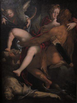 Spranger_Kunsthistorisches_Vienne_Hercule_Dejanire_et_le_centaure_Nessus