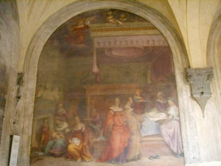 Andre del Sarto - La Nativité de la Vierge