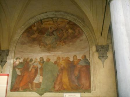 Rosso Fiorentino -  L'Ascension de Marie