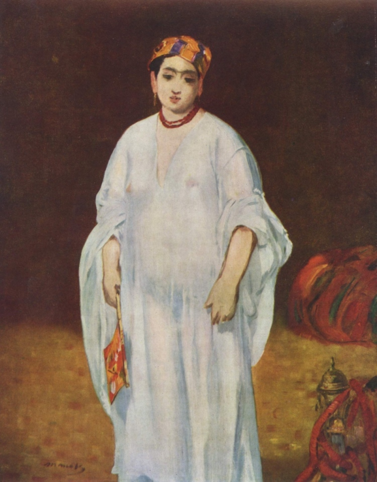 Édouard Manet - Sultane