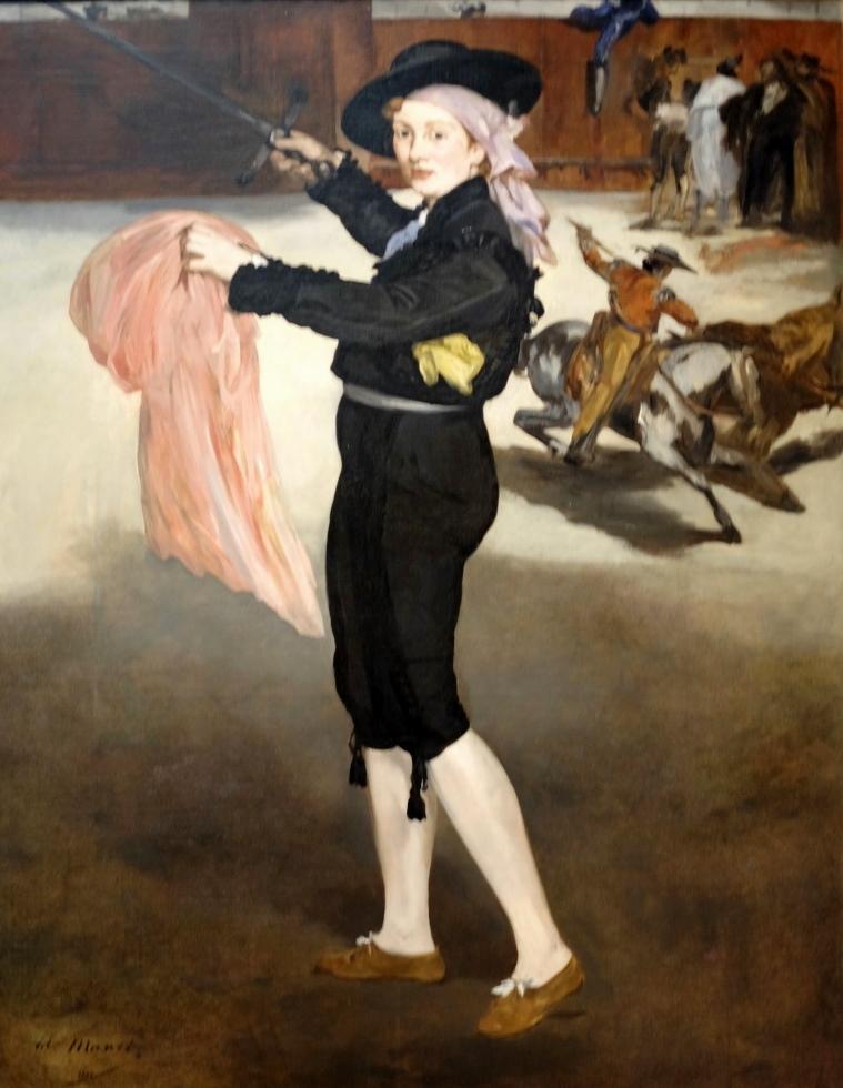 Manet, Mlle Victorine Meurent en costume d'espada