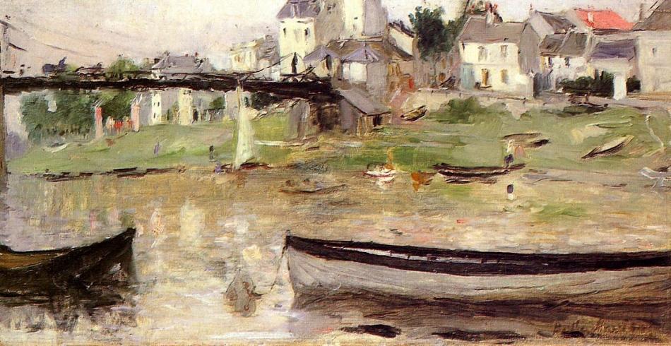 Morisot Bateaux sur la Seine Cologne