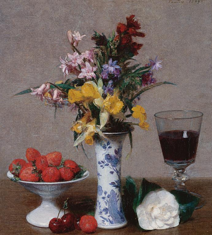 Fantin-Latour Grenoble Bouquet de fiançailles