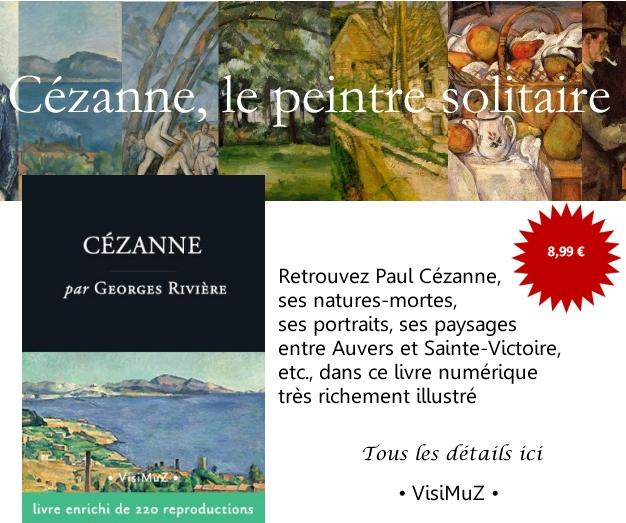 Publication ebook Cézanne biographie Pub