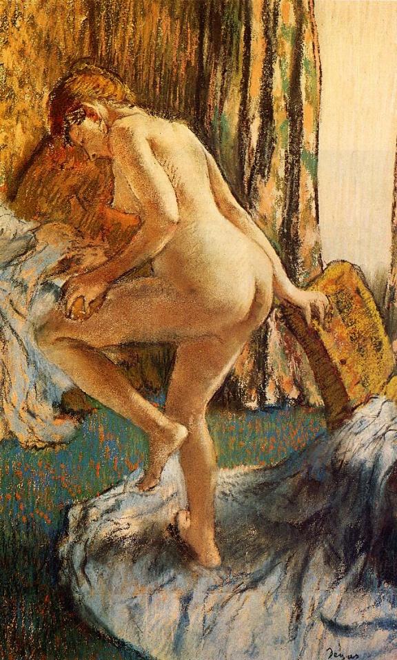 Après le bain, Edgar Degas