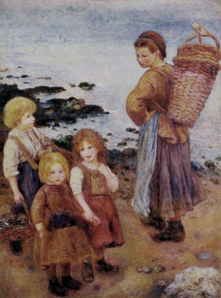 Renoir Pêcheuses de moules à Berneval