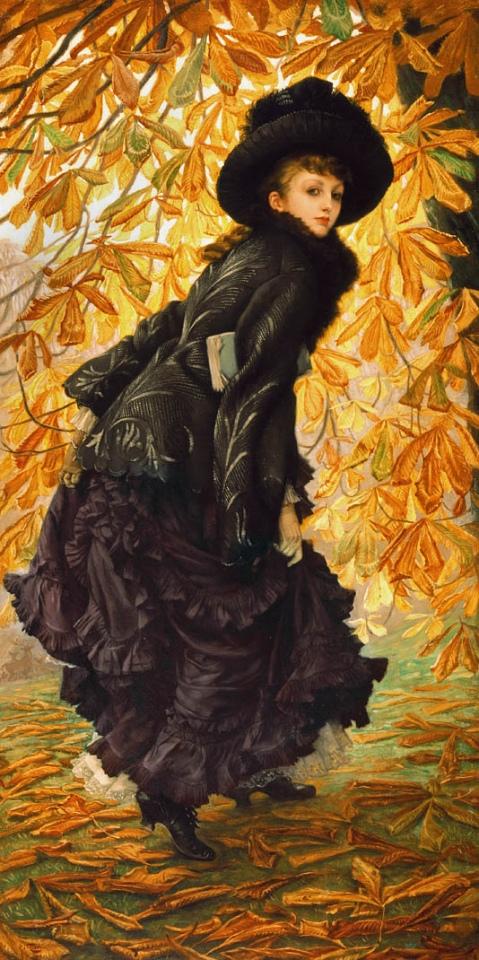 James Tissot - Octobre