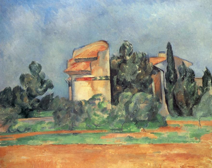 Le Pigeonnier à Bellevue, Paul Cézanne