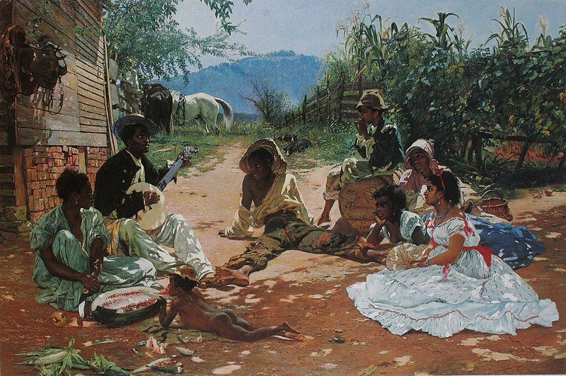 15102015_Frank_Buchser_The_Song_of_Mary_Blane_1870