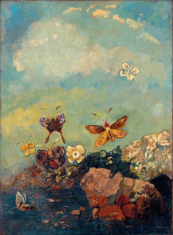 Papillons – Odilon Redon