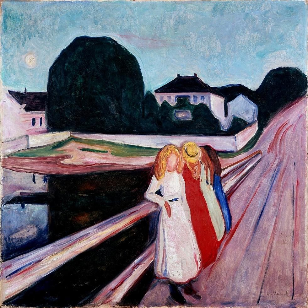 Quatre filles sur le pont, Edvard Munch, Cologne