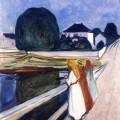 Les Filles sur le pont, Edvard Munch