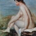Renoir ²#8211; Baigneuse assise