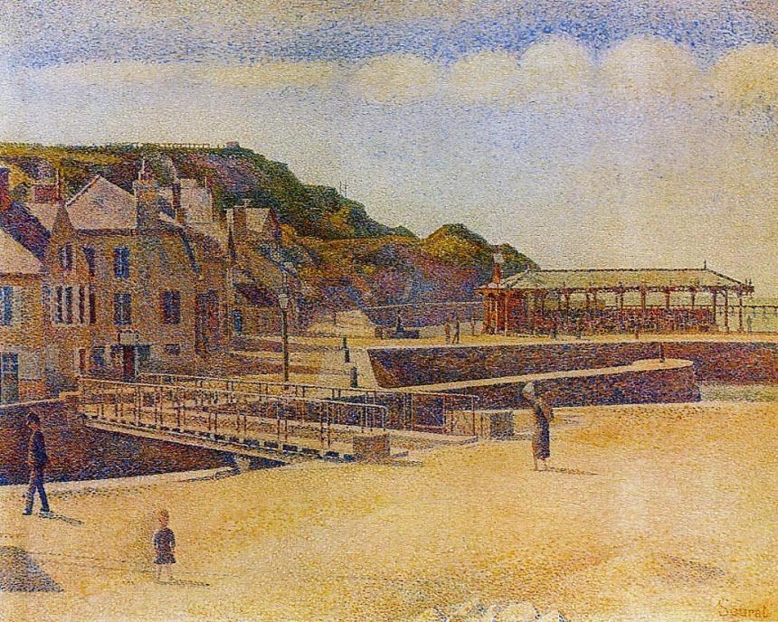 Port-en-Bessin, Georges Seurat