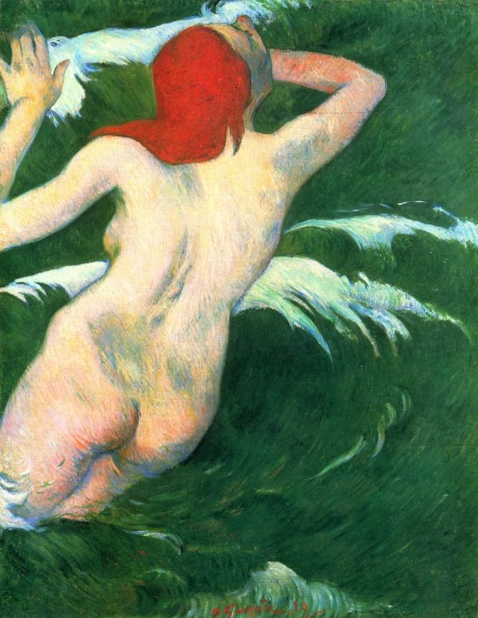 Gauguin – Dans les vagues, ou Ondine