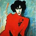 Portrait du danseur Sakharoff Alexej von Jawlensky