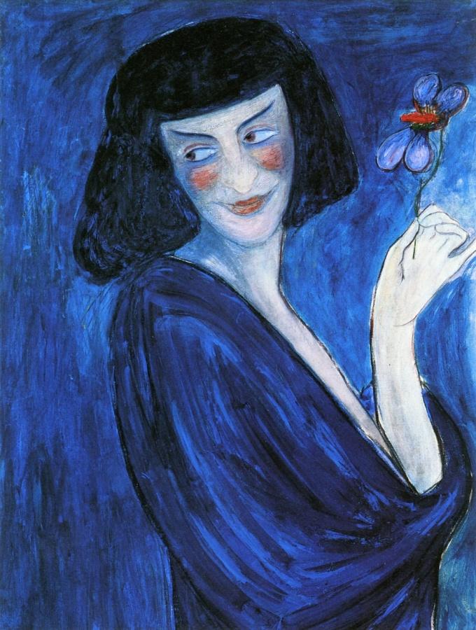 Portrait d'Alexandre Sakharoff – Marianne von Werefkin