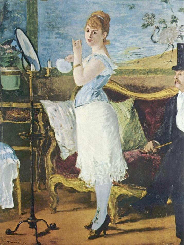 Nana, Édouard Manet