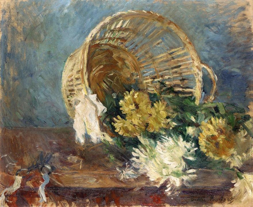 Chrysanthèmes, Berthe Morisot