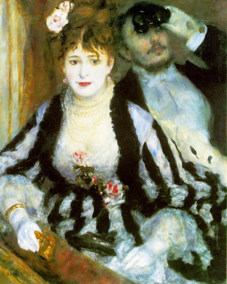 Renoir, La Loge