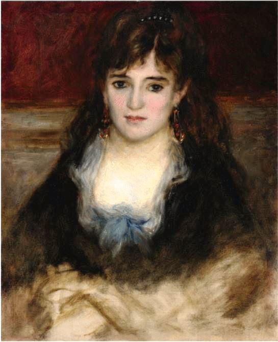Renoir, Portrait de Nini gueule-de-raie
