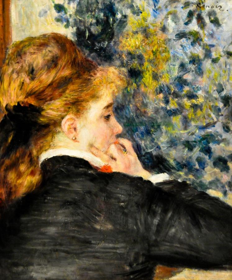 Renoir, La Songeuse (Pensive)