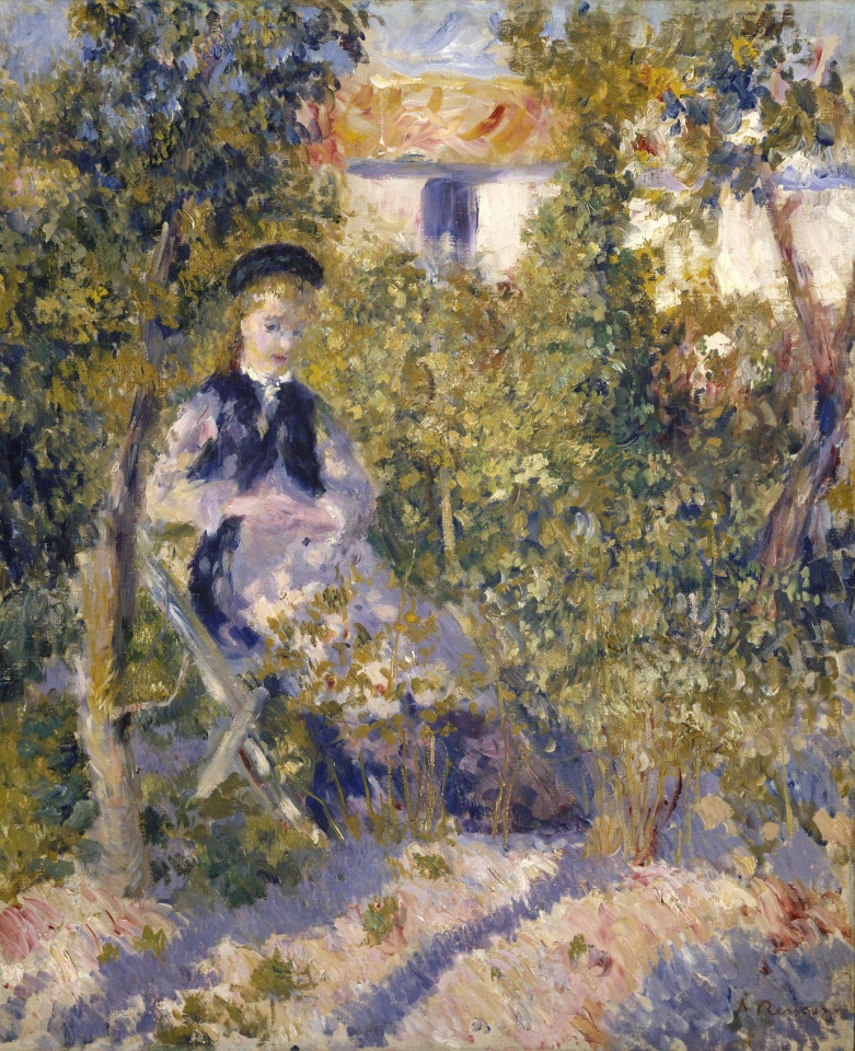 Renoir, Nini dans le jardin