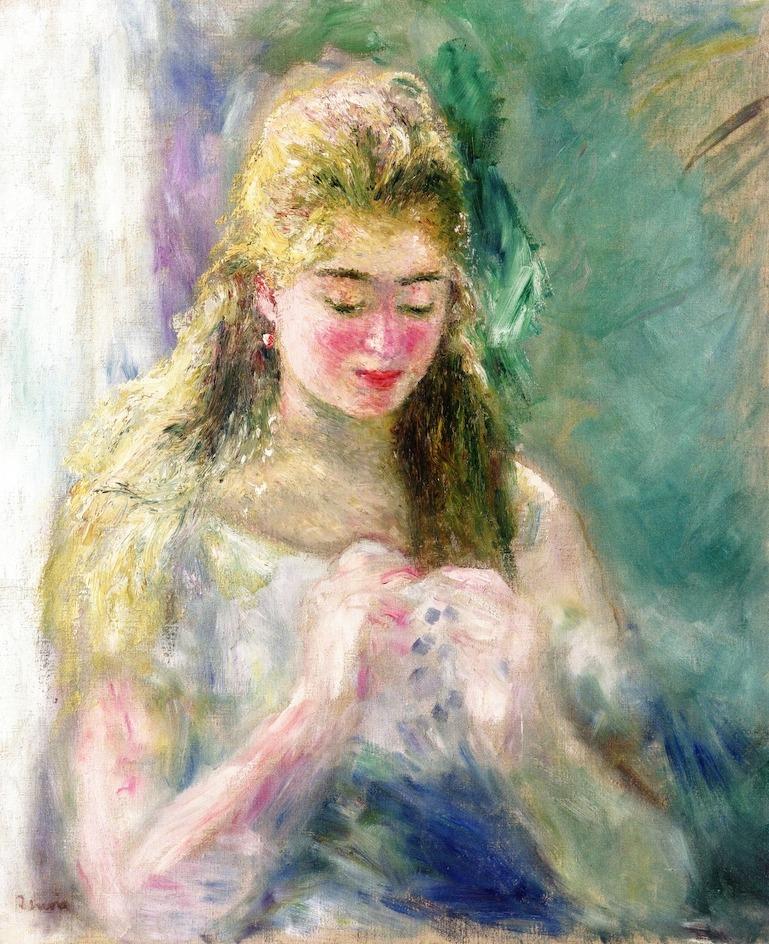 Renoir, La Couseuse