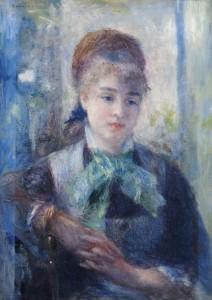 Renoir Portrait de Nini Lopez,