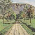 La Route d'Évordes, Ferdinand Hodler