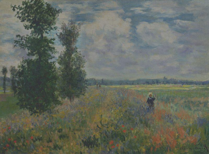 Champs de coquelicots près d'Argenteuil, Claude Monet