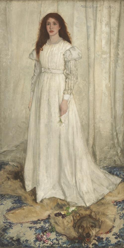Symphonie en blanc, N° 1, Whistler
