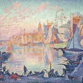 Le Port de Saint-Tropez , Paul Signac