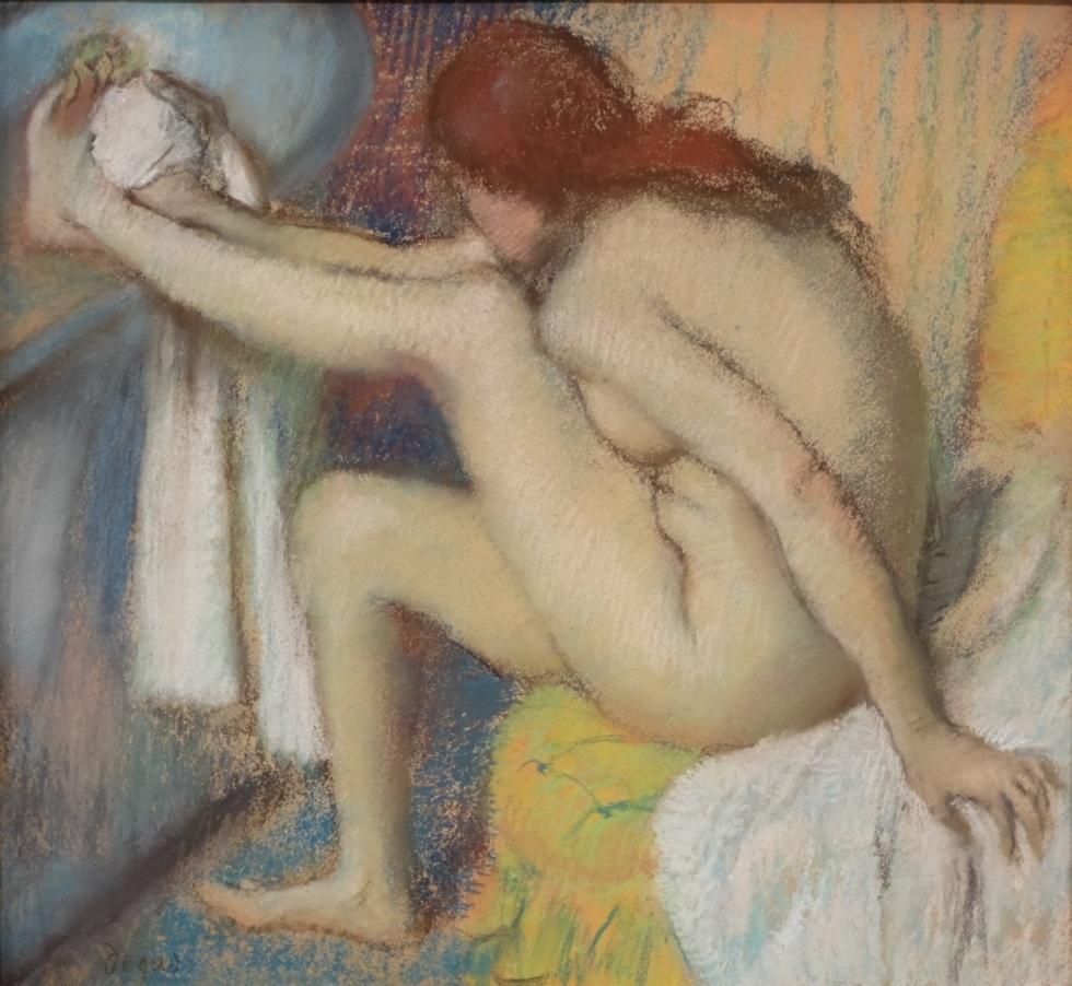 Femme essuyant son pied, Edgar Degas