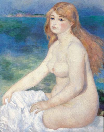 La Baigneuse blonde, Auguste Renoir