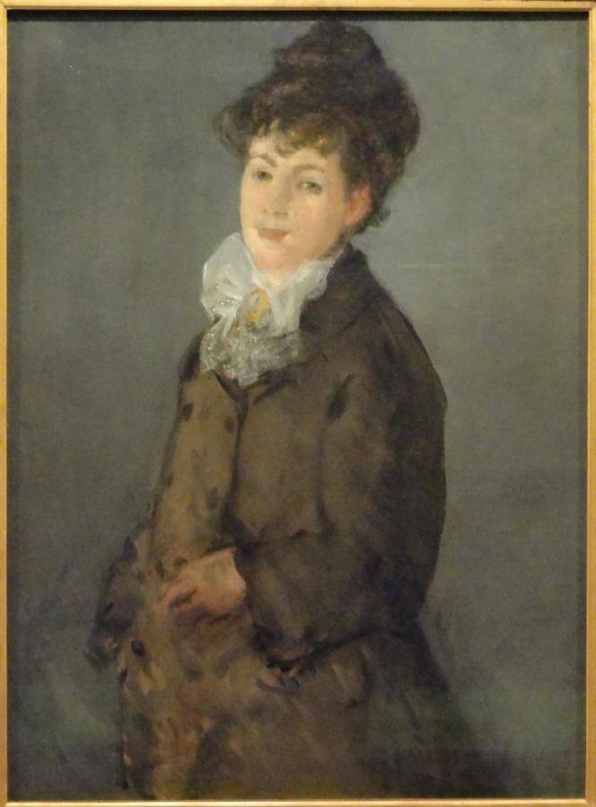 Mademoiselle Lemonnier Édouard Manet