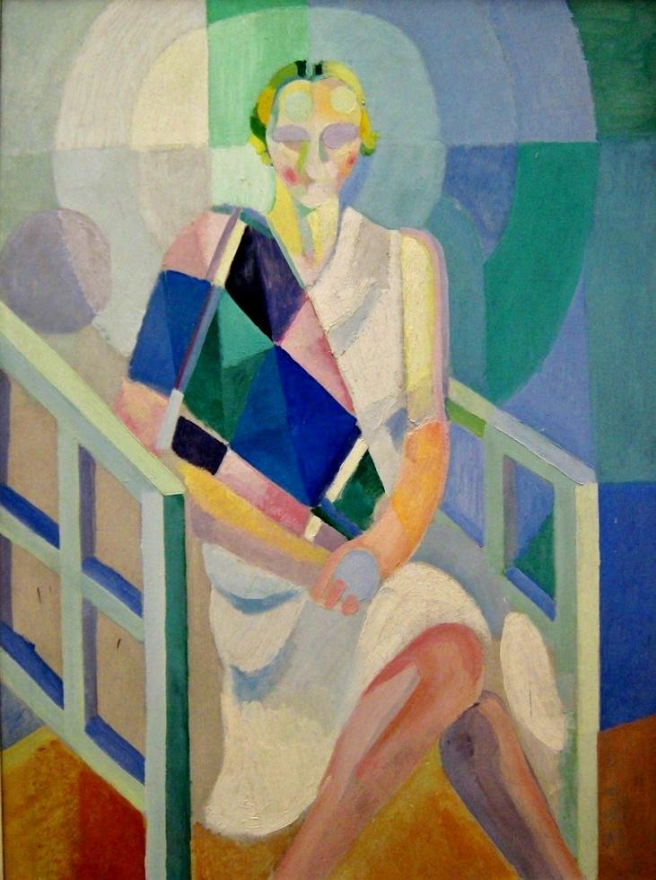 Portrait de madame Heim, Robert Delaunay