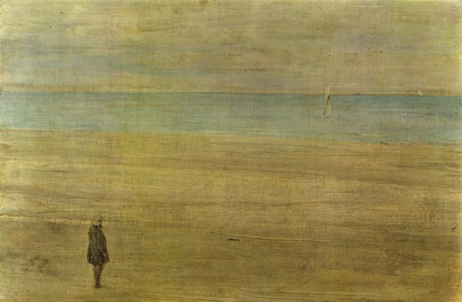 Harmonie en bleu et argent: Trouville, James Abbott McNeil Whistler