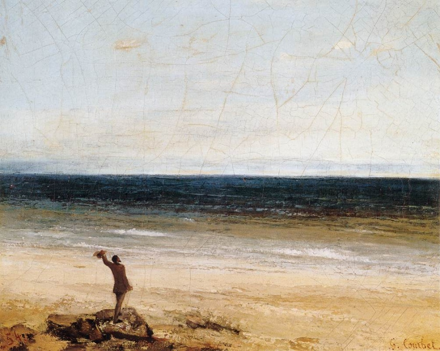 Le Bord de mer à Palavas, Gustave Courbet