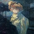 La Modiste, Mlle Margouin, Toulouse-Lautrec