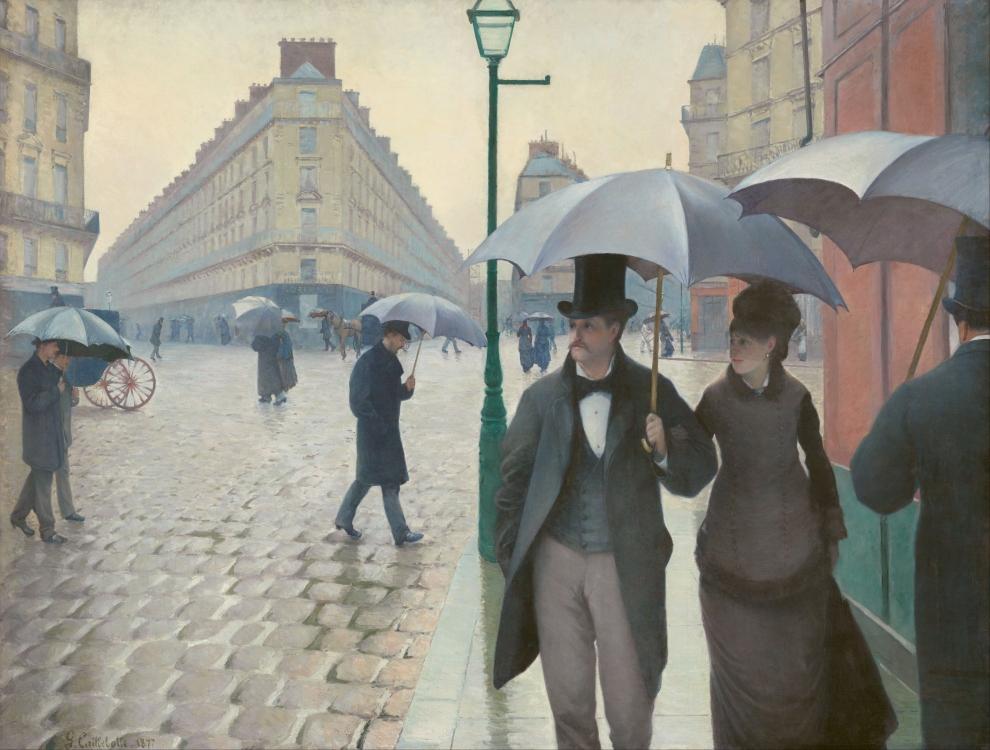 Rue de Paris, temps de pluie, Gustave Caillebotte