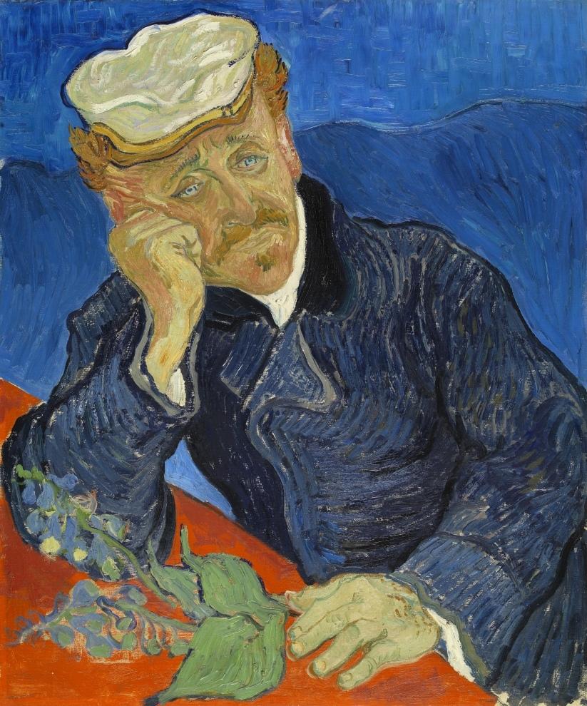 Portrait du Dr Gachet v2, Vincent van Gogh