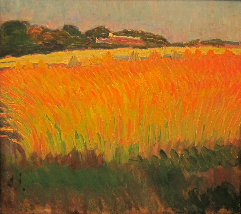 Champ de blé près de Carantec, Alexej von Jawlensky