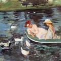 L'Été, Mary Cassatt